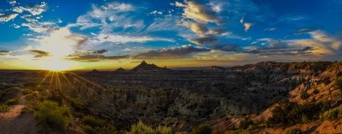 Angel Peak Sunset